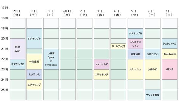 2016夏フェスステージ3