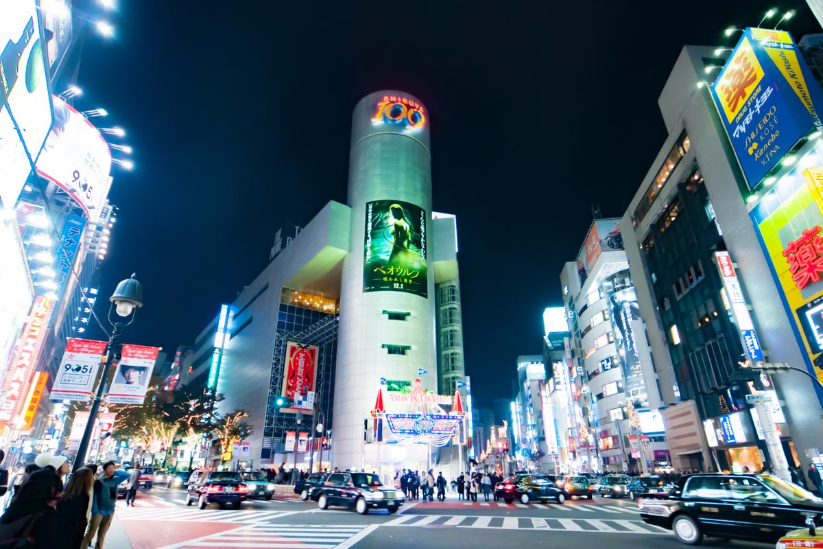 クリスマス渋谷
