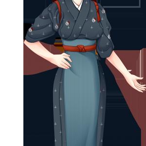 風流庵女子バイト制服