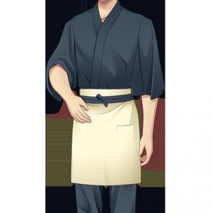 風流庵男子バイト制服